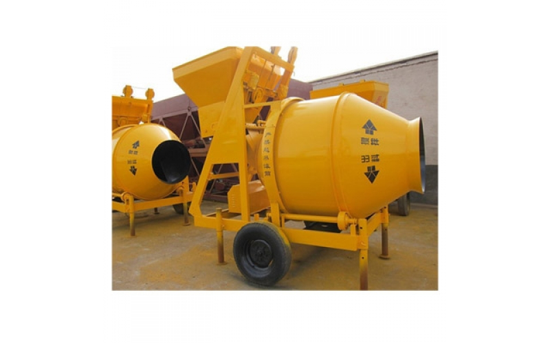 JZC500 Mobile Concrete Mixer
