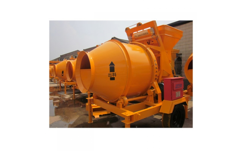 JZC750 Mobile Concrete Mixer