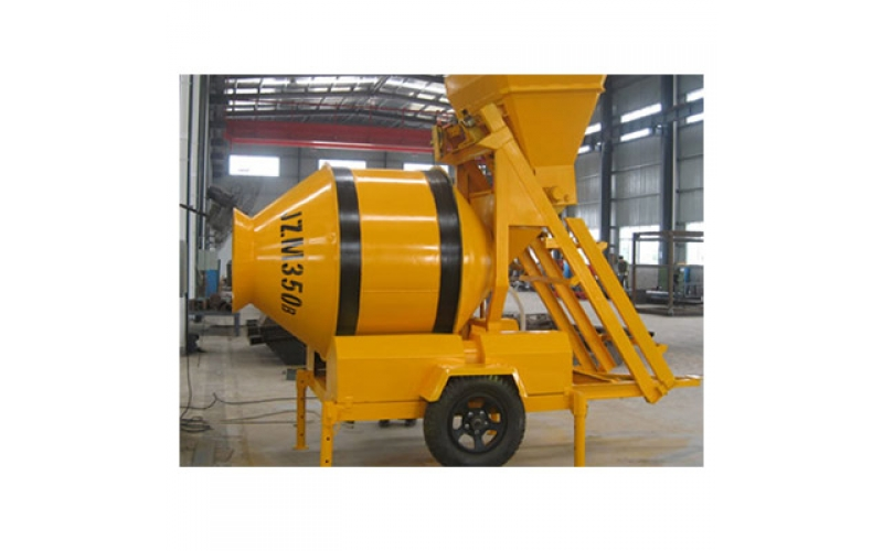 JZM350 Mobile Concrete Mixer