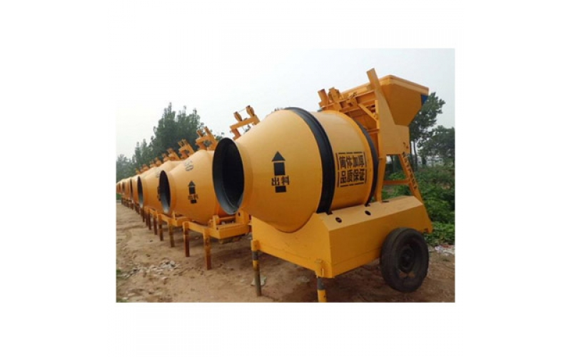 JZM500 Mobile Concrete Mixer