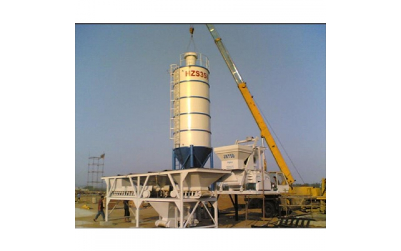Minrui Group Concrete Mixer Plant Case