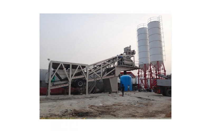 Mobile Concrete Batching Plant Case