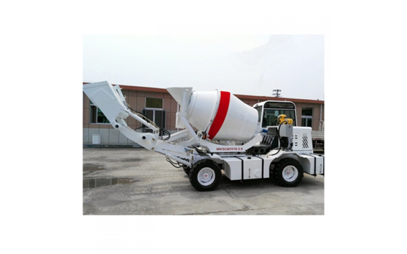 2.6m3 Self Loading Concrete Mixer