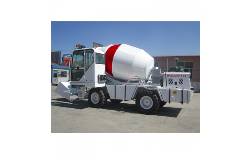 3.5m3 Self Loading Concrete Mixer