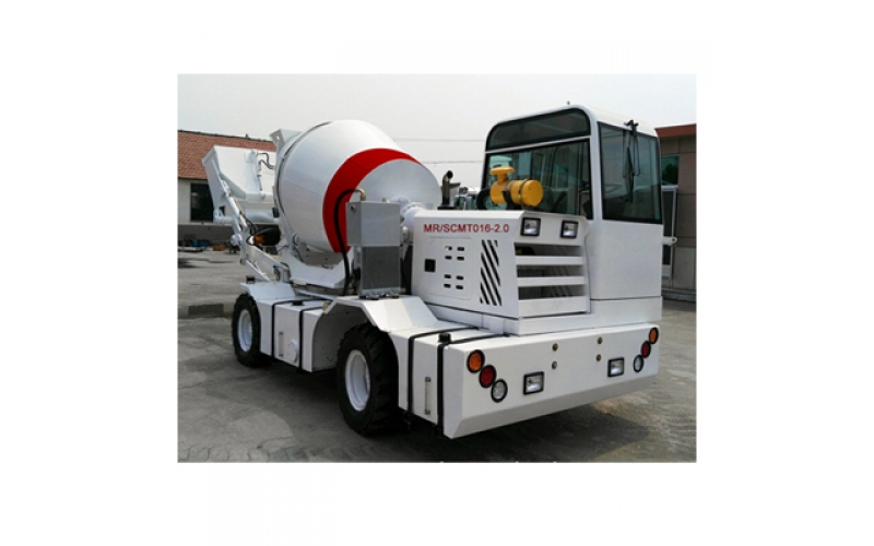 2m3 Self Loading Concrete Mixer