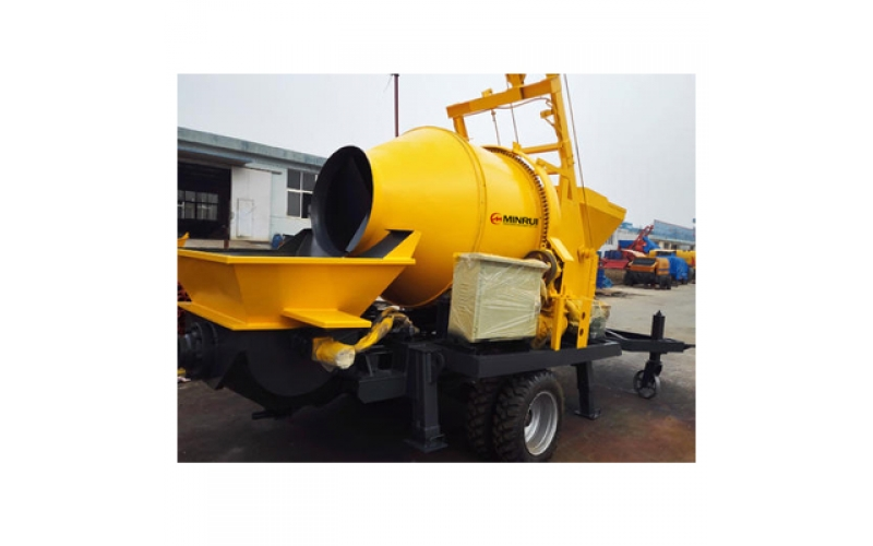 MR/CMP016-40 Concrete Mixer With Pump
