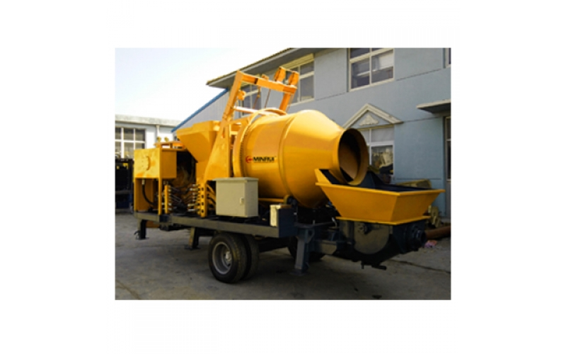 MR/CMP016-30 Concrete Mixer With Pump