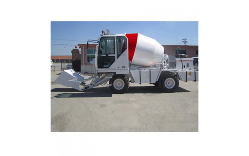 4m3 Self Loading Concrete Mixer